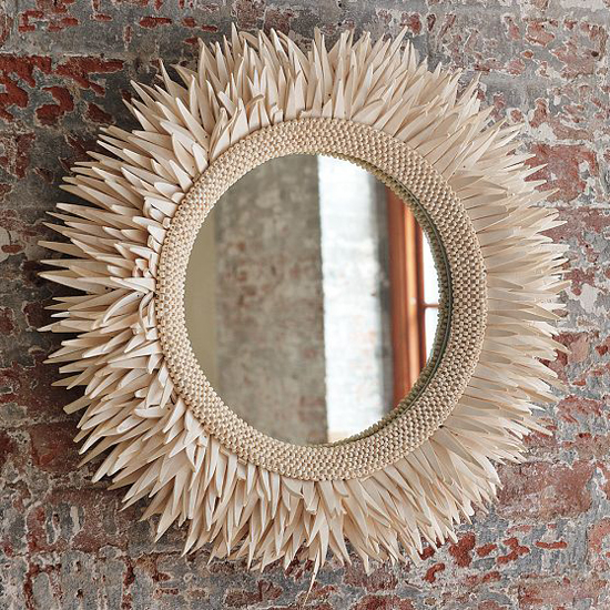 Unusual Mirror unusual wall mirrors - home design