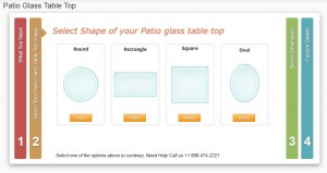 patio glass table top replacement from Fab Glass and mirror