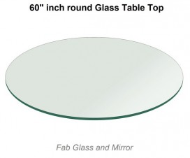 60 Inch Round Glass Table Top