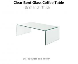 Bent Glass Coffee Table
