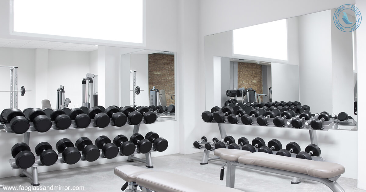 Stay fit and look smart exclusive gym mirrors for your fitness
