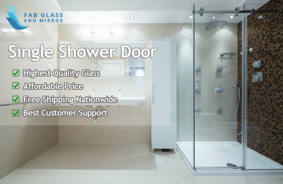 shower screen FAB glass and mirror