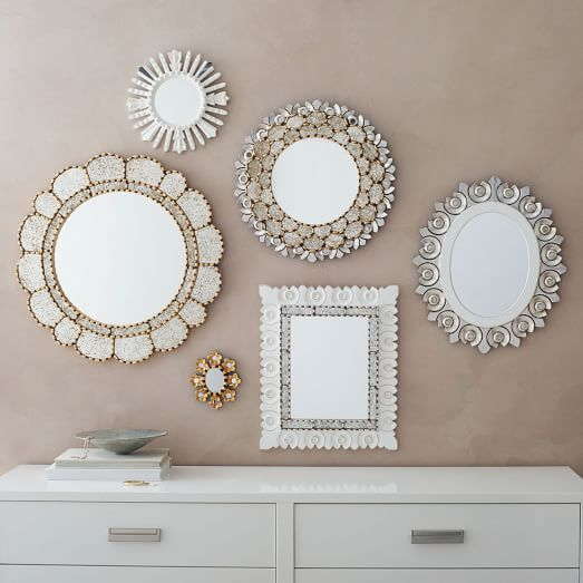 Top Contemporary Ideas Of Home Decor With Wall Mirrors