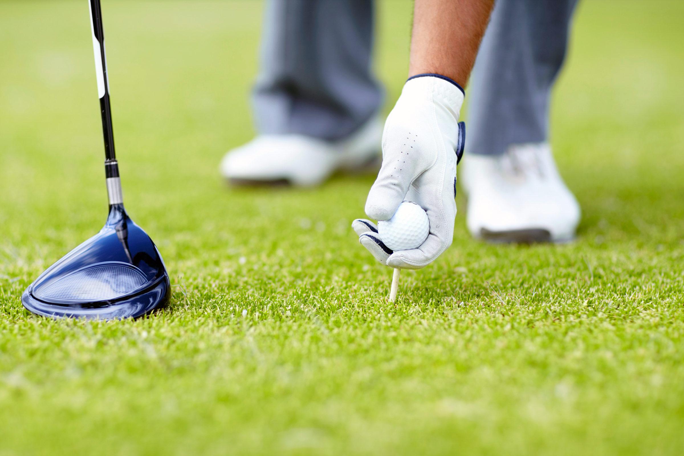 1, Play golf