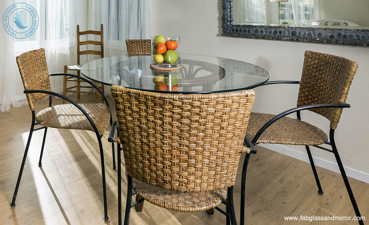 Gl Table Tops Ideas To Add Grace In
