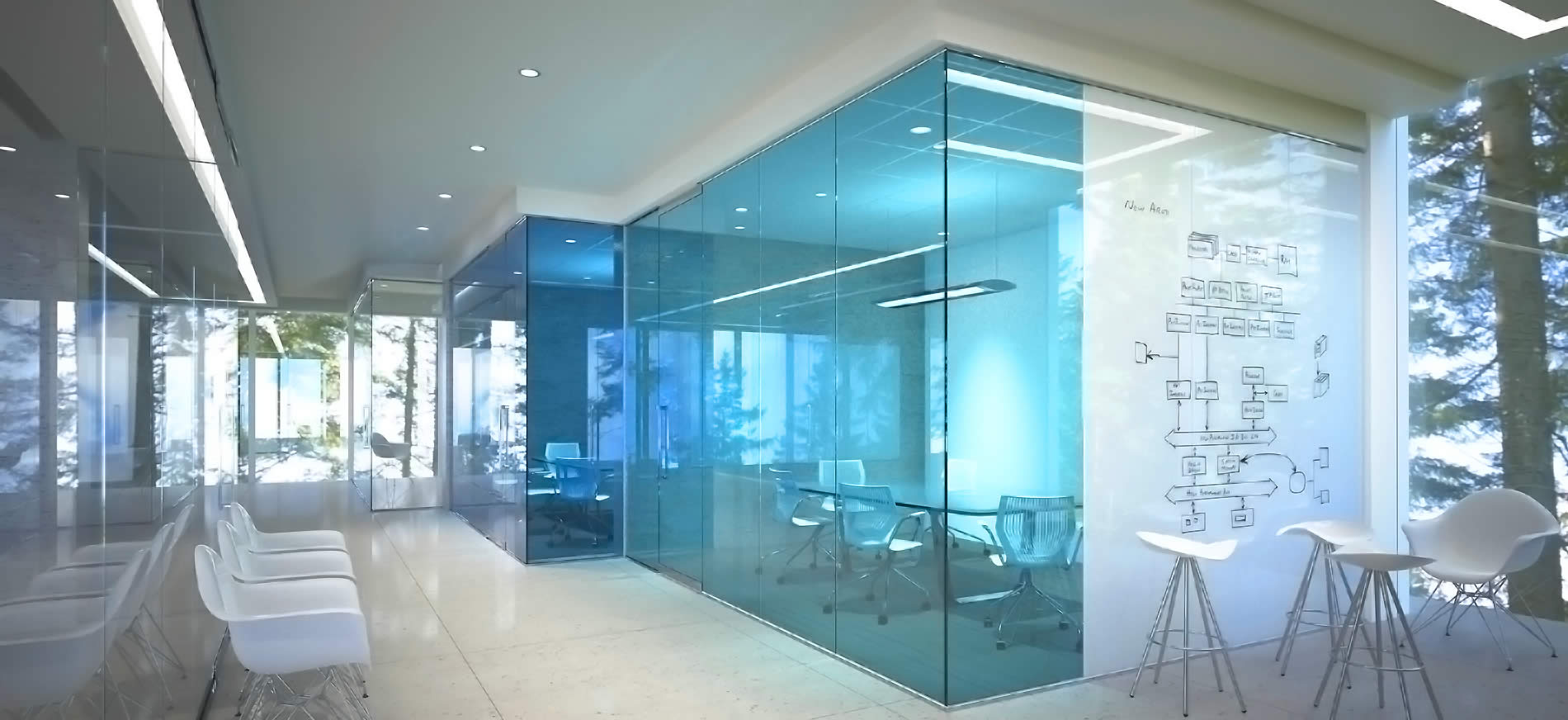 Commercial Domestic Uses Of Glass Panels And Glass Boa