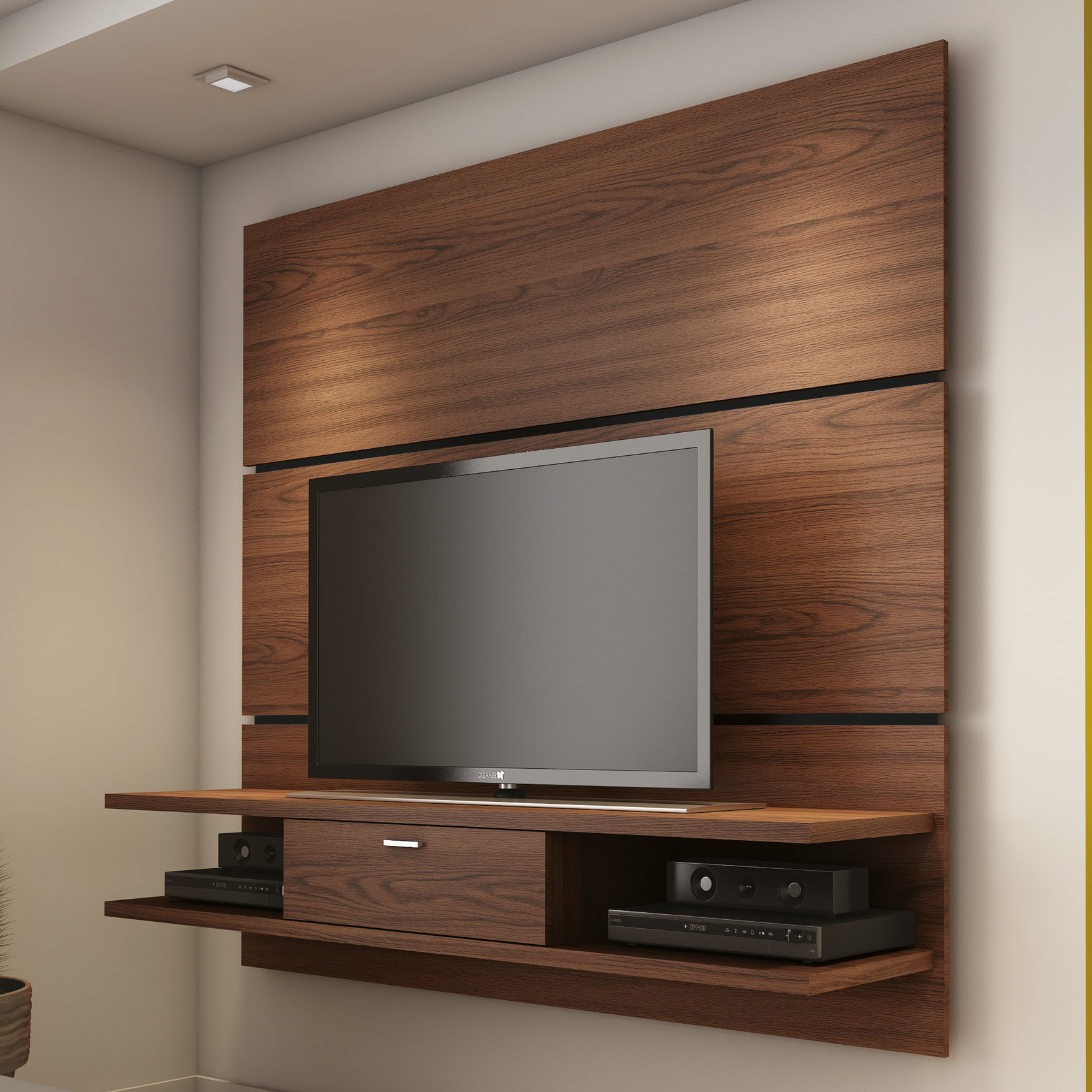 Bedroom Tv Stands: Contemporary Wall TV Stand Ideas For Modern Livingroom