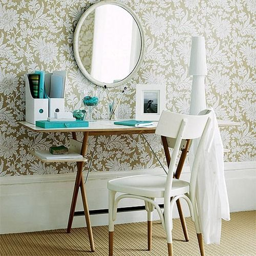 glamours vanity area