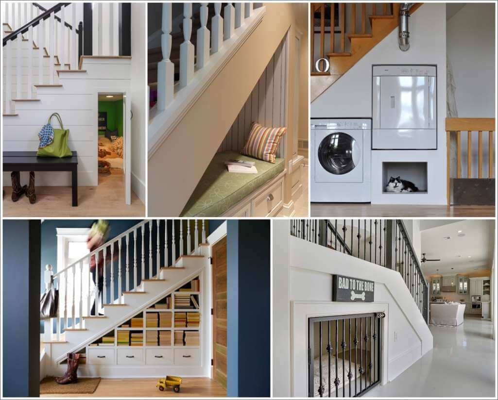 20 Smart Under Stairs Design Ideas: Trending Ideas To Use Space Beneath Stairs