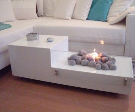 Modern Interior and Coffee Tables