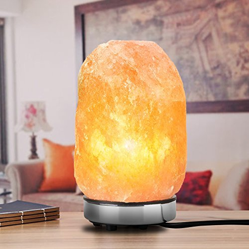 himalayan rock salt lamp in office and meeting areas