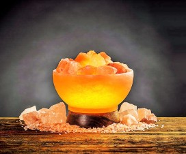 Salt Lamps for organic effect