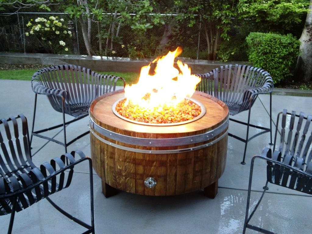 Patio Fire Pit Idea