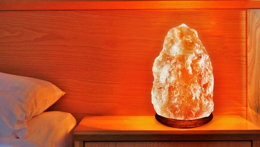 Crystal Rock Himalayan Salt Lamp Natural Shape