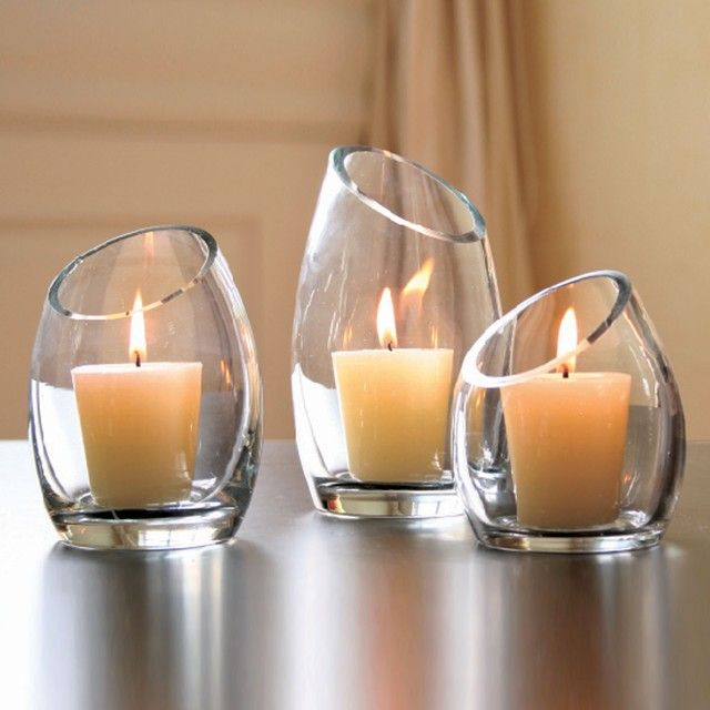 Candles in Glass
