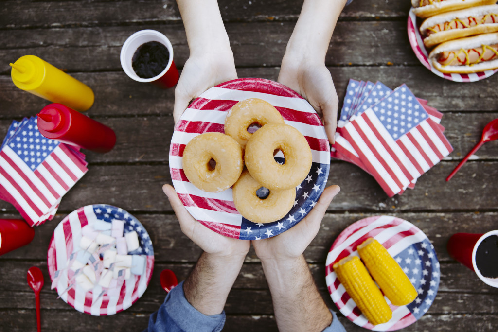 Dinnerware for July 4th