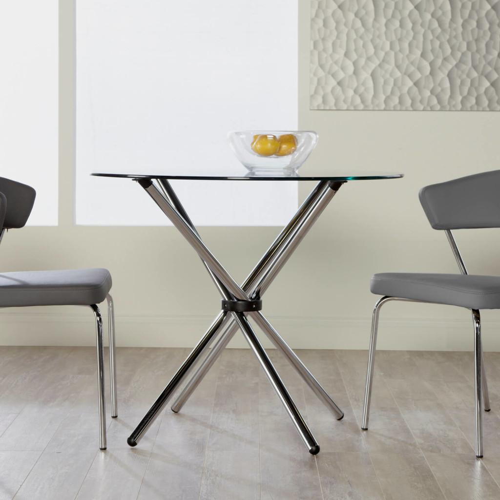 Chrome Hydra Dining Base Table