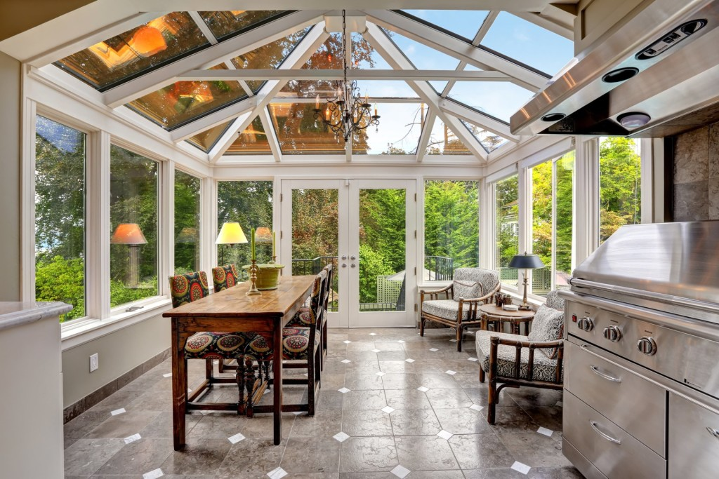 sunrooms outdoor glass enclosed patio