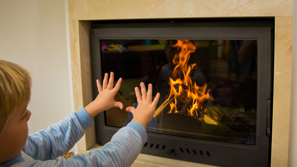 Safety and Protection with using Fireplace glass