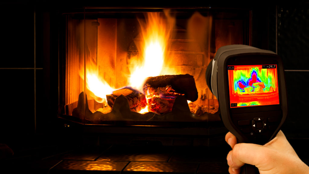 Increase energy efficiency with Fireplace glass