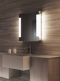 Bathroom cabinets with acrylic glass sheets