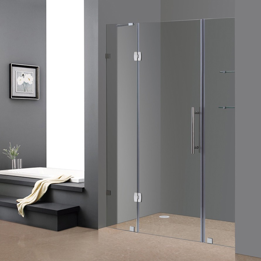 Glass shower is a functional accessory