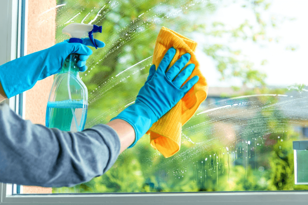 clean up window
