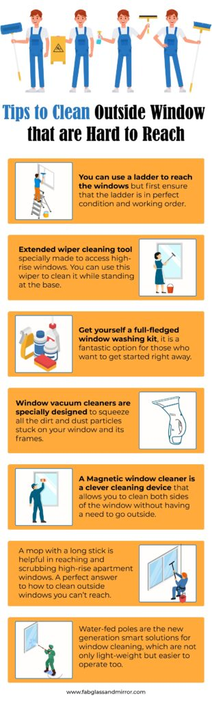 How To Clean Outside Windows That You Can T Reach 9 Diffe Ways