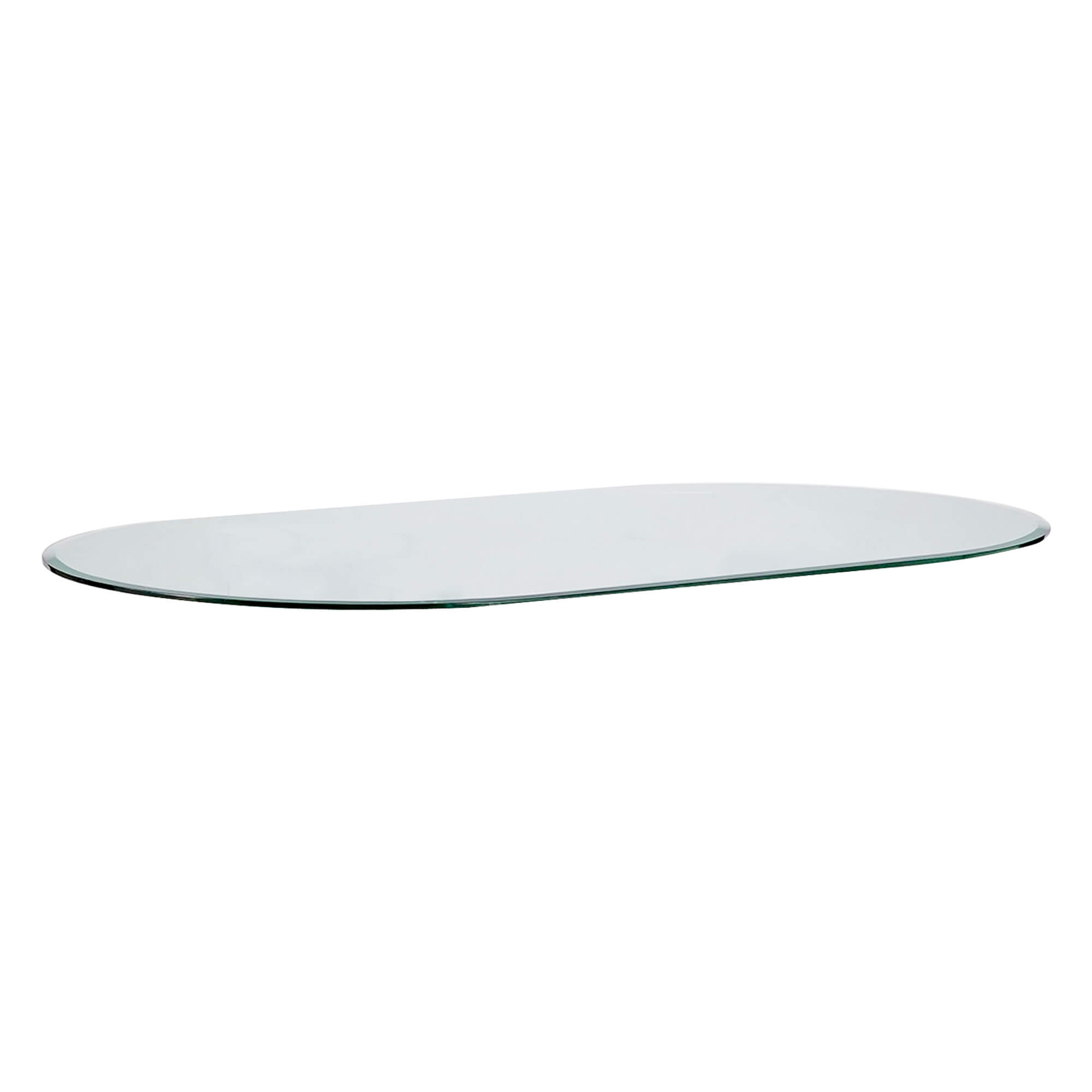 Bon Oval Racetrack Glass Table Top 1 2 034
