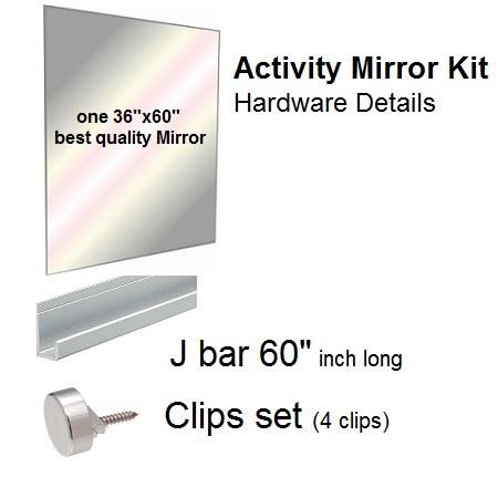 Fab glass and mirror high quality activity gym dance for Mirror quality