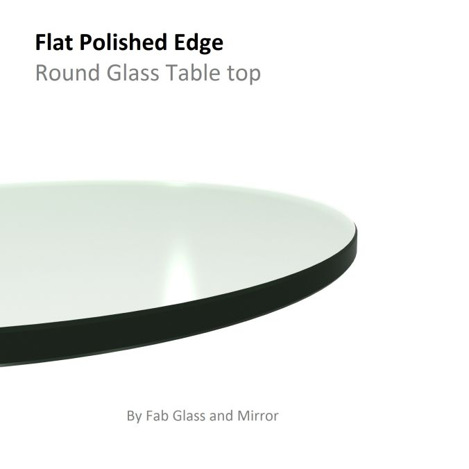 16 Clear Glass Table Tops Tempered, 16 Inch Round Glass Table Top