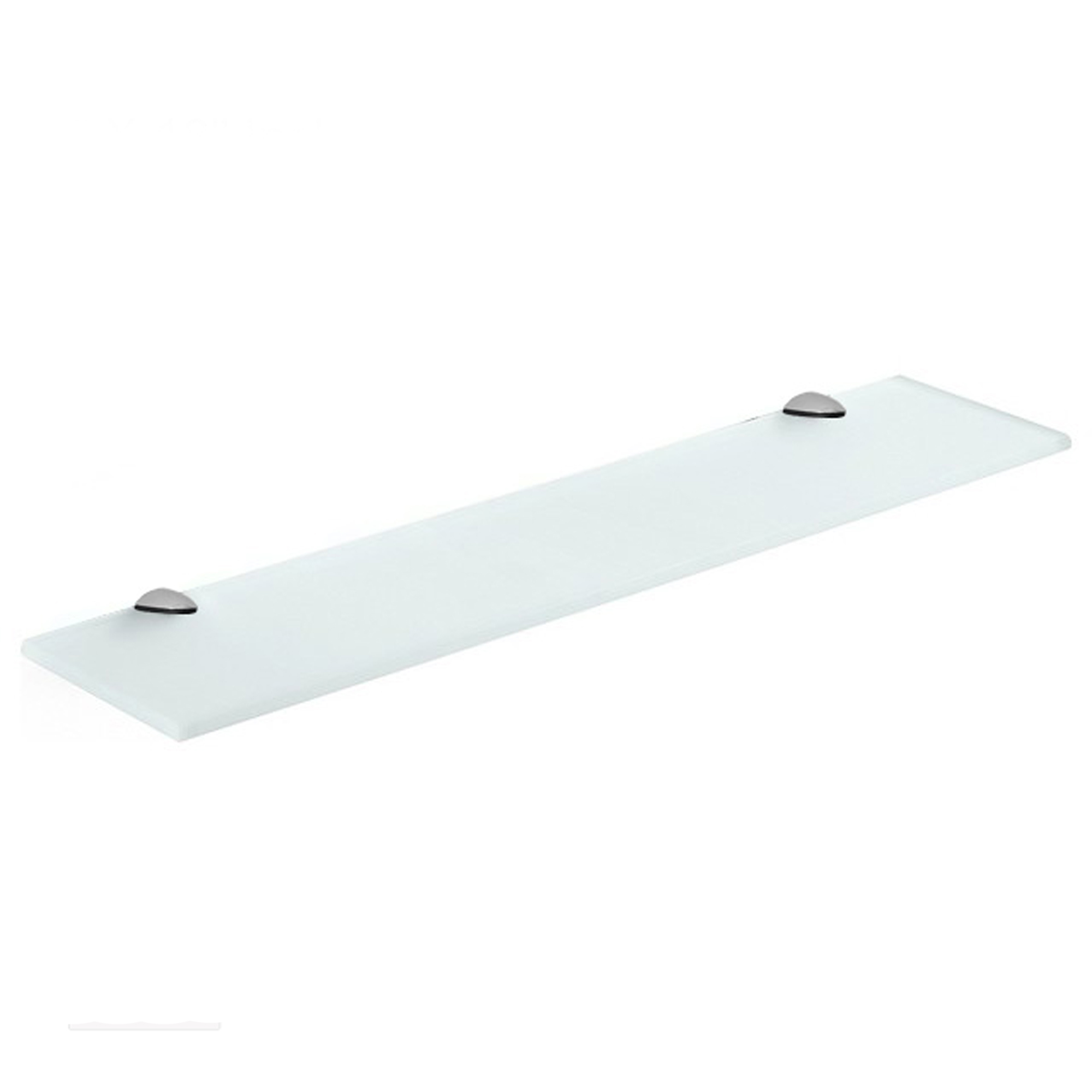 fab glass and mirror rectangle floating frosted glass shelf kit with brackets ebay. Black Bedroom Furniture Sets. Home Design Ideas