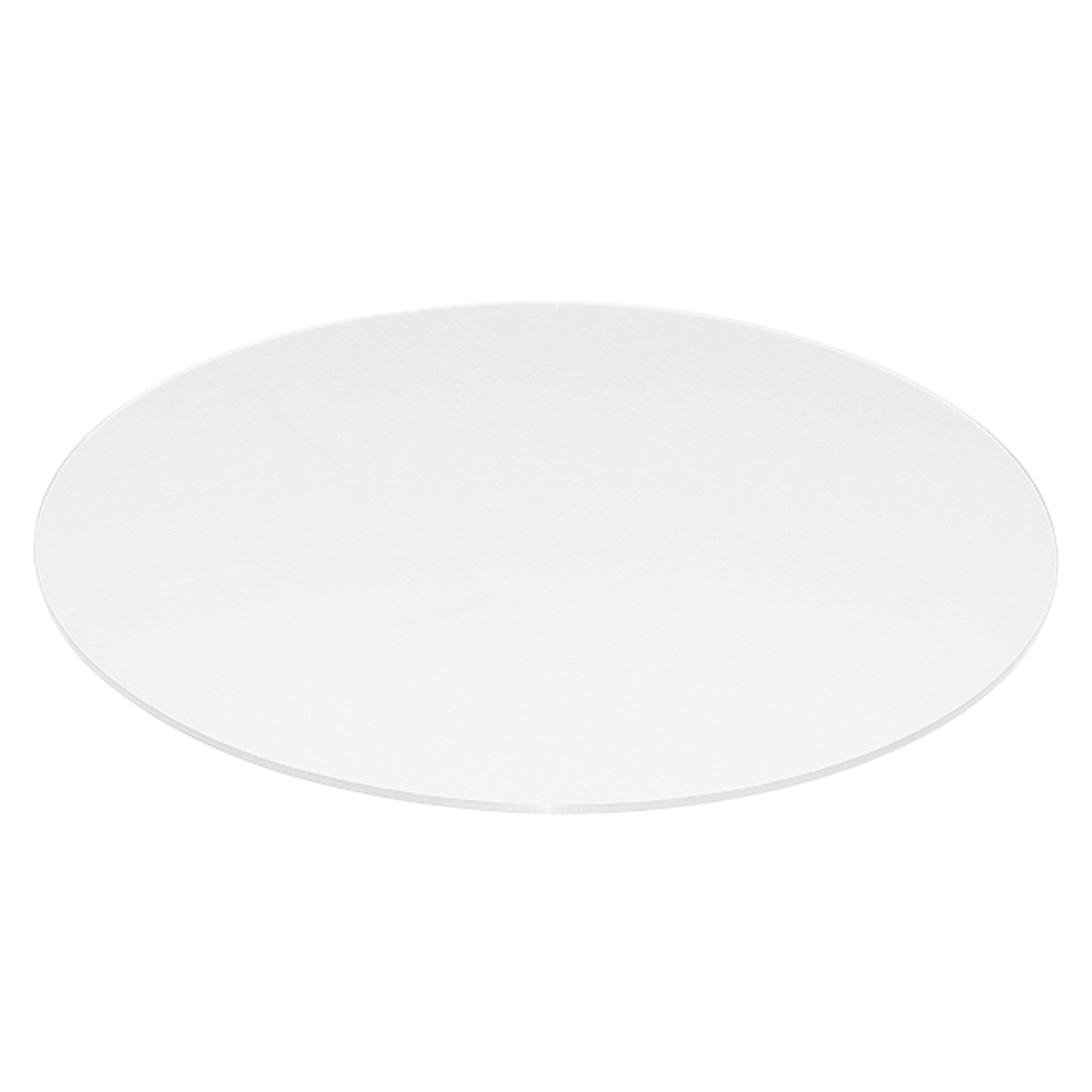 40 Inch White Colored Gl Table Tops