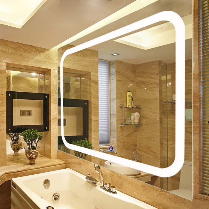 Lighted Vanity Mirror.Wall Mounted High Quality Led Lighted Vanity Mirror