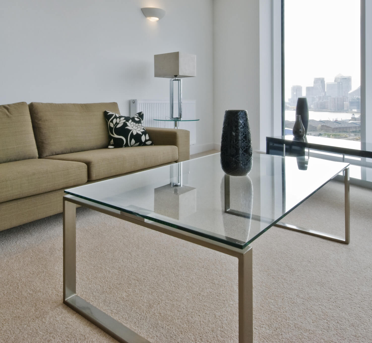 Frameless Glass Coffee Table: Fab Glass And Mirror Rectangle Tempered Clear Glass Table