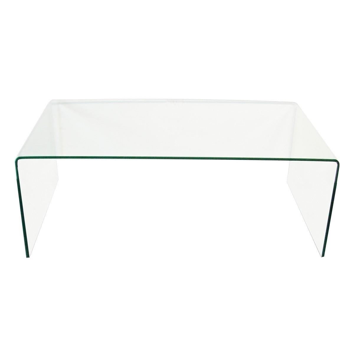 Fab Glasirror Bent Glass Coffee Table