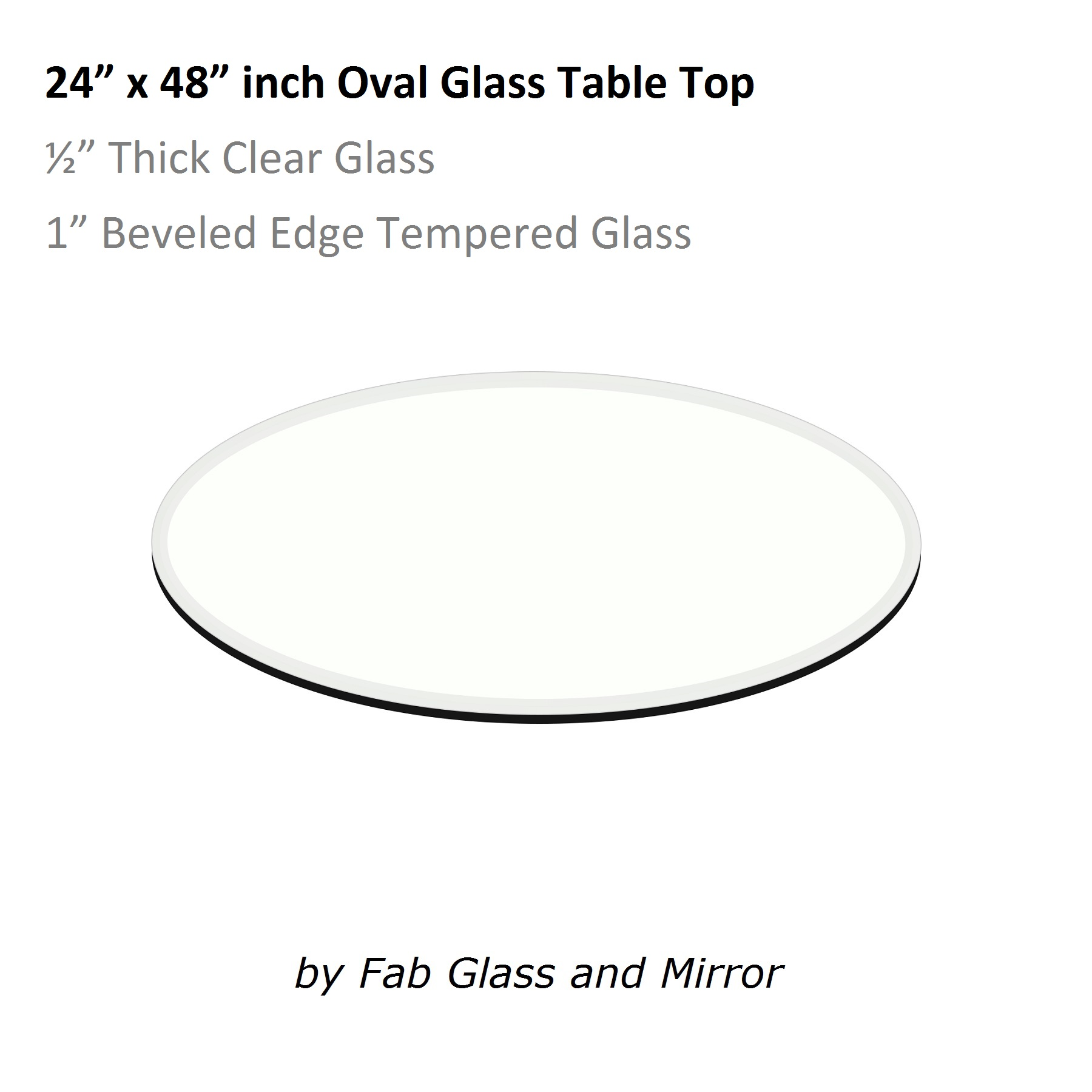 Oval Glass Table Top Buy Tempered eOval Glass Table Tops