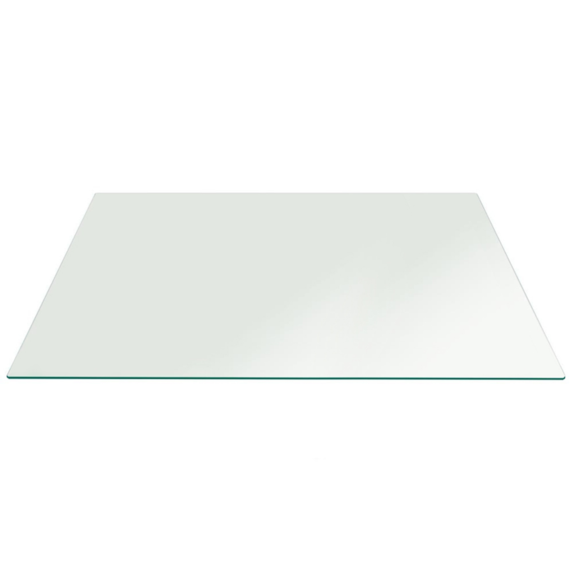 fab glass and mirror rectangle clear tempered glass table top w rh ebay com tempered glass table top protector tempered glass table top rectangle