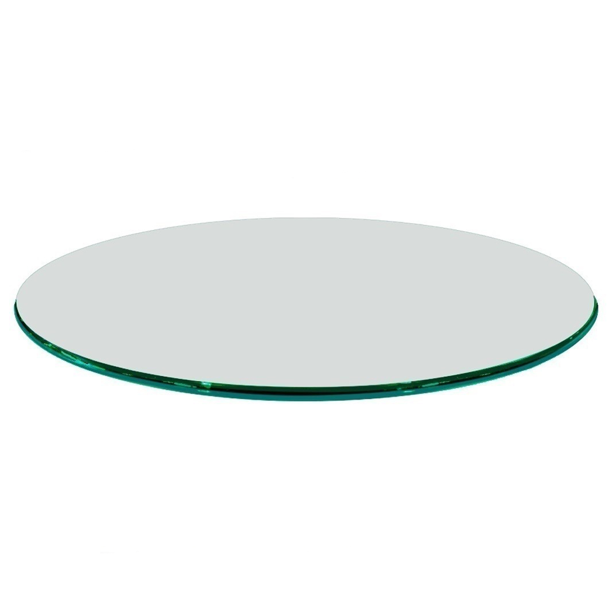Fab Glass And Mirror 12 Quot To 72 Quot Inch Round Clear Glass