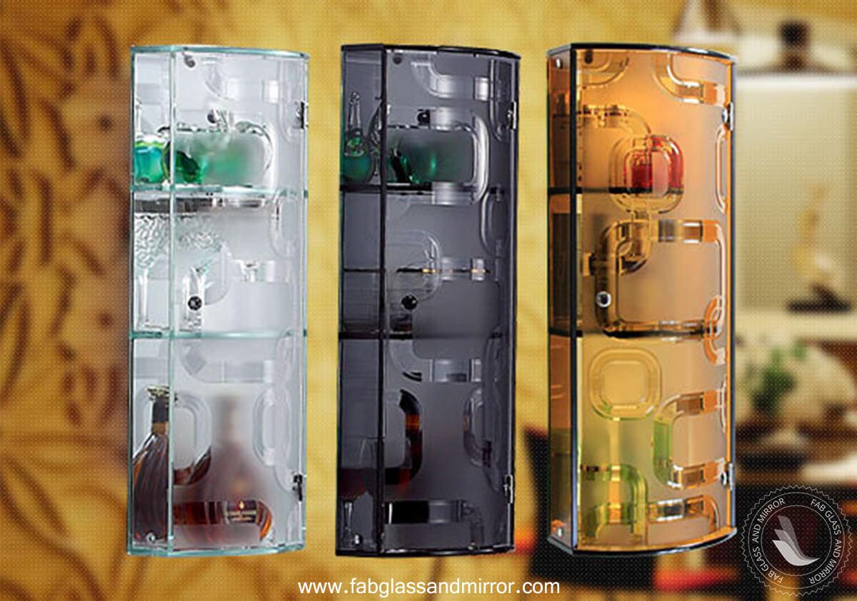 Stylish Glass Cabinet